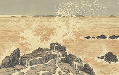 Wave (La vague), 1893, Henri Rivière, Van Gogh Museum, Amsterdam (Vincent van Gogh Foundation)