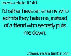 enemy vs fake friend
