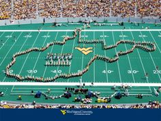 West Virginia University Mountaineer Band  -- the pride of WV!!