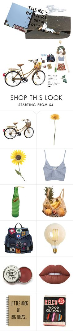 """""""Big ideas for a small town nobody"""" by shay-heid ❤ liked on Polyvore featuring Gerber, Chicnova Fashion, See by Chloé, Dsquared2, Lime Crime and Matthew Williamson"""