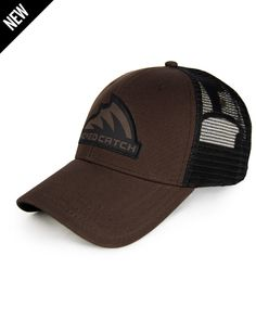 38c01b4504cbd White   Black Mesh Logo Hat-MD LG-Black (090)
