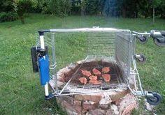 Summer  Well that's another way to barbecue! This popular #summer picture was posted to Twitter by @BlasianFMA (700+ followers).