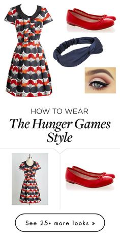 """""""District 8 Reaping- 68th Hunger Games"""" by kendalandersonfalse on Polyvore featuring Bloch"""
