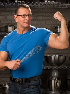 Chef Robert Irvine - what can I say? I love all of his impossible missions!