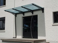over door glass canopy pinterest. Black Bedroom Furniture Sets. Home Design Ideas