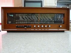Saba Stereo I Valve Radio. Poste Radio, Portable Record Player, Smart Set, Retro Radios, Antique Radio, Cassette Recorder, Record Players, Boombox, Vintage Diy