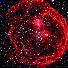 Henize 70 (N70, DEM301) - This superbubble is about 300 light-years across and is some 160,000 light-years away in the constellation Dorado. Extremely hot massive stars are at its center and some are rapidly losing mass. Each supernova renews the cavity as stellar matter has no time to fill the cavity prior to another supernova