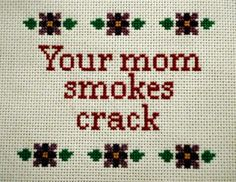 love that it is needlepoint.