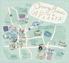 24 Hours in Atlanta (with Ginny Branch) - What to do, where to eat, and what to see
