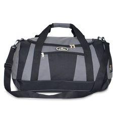 everest Casual Duffel With Wet Pocket - Standard, Sac de voyage Mixte adulte Gris foncé/noir taille unique