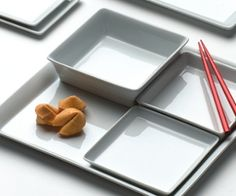 Aura Squares and Rectangles, Rene Ozorio #tabletop #steelite