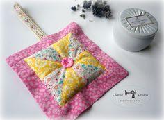 Charise Creates: Handmade Gifts ~ Lavender Pinwheel Sachet Tutorial