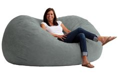 This is the chair that brought bean bags out of the 1970s and into the bedrooms and dorm rooms all over the world. The first one to use patented memory foam, the Fuf is one-of-a-kind. Spend five minutes on a Fuf and your body will thank you for it.