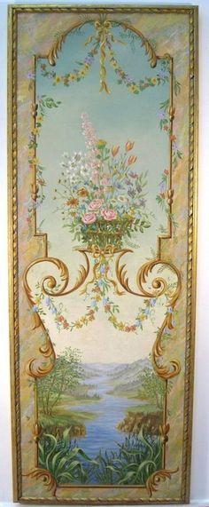 Arabesque Design, Decoupage, Foto Transfer, Ideias Diy, Paper Wallpaper, Mural Painting, Vintage Walls, Vintage Images, Home Art