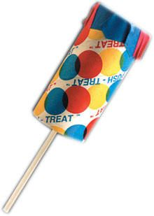 """Creamy orange """"Push Up"""" popsicle! My favorite from the Ice Cream Truck!!!"""