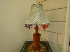 Kirsty Lockwood Furnishings Multi Lampshade with buttons