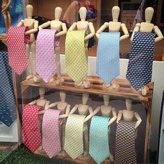 Display idea which could work for scarves as well as ties