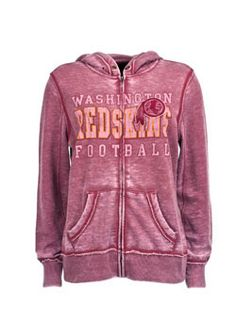 4d7d8e7ca Ladies Full Zip Redskins Sport Princess II Hooded Sweatshirt Redskins  Football