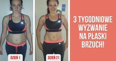 Kliknij i przeczytaj ten artykuł! Squat Challenge, Crazy Girls, Squats, Fitness Inspiration, Abs, Challenges, Sporty, Yoga, Workout