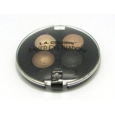 I'm learning all about L.A. Colors Baked Eye Shadow Palette Quad 430 Equinox at @Influenster!