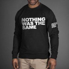 Drake Nothing Was The same CREWNECK Sweatshirt Owl September OVOXO Sweater OVO