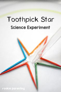 Toothpick Trick - Science Experiment For Kids