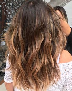 Black Coffee Hair With Ombre Highlights - 10 Cool Ideas of Coffee Brown Hair Color - The Trending Hairstyle Brown Ombre Hair, Ombre Hair Color, Hair Color Balayage, Brown Hair Colors, Coffee Brown Hair, Coffee Hair, Bad Hair, Hair Day, Medium Hair Styles