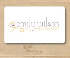 One Of A Kind Premade Logo Design Will Not Be by MulberryDesign22, $30.00