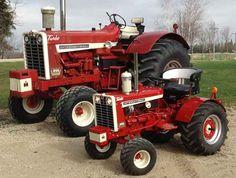 The Little Tractor Co: IH 1206 Wheatland Diesel...
