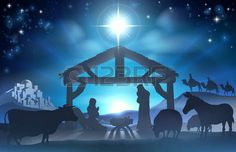 43856641-traditional-christian-christmas-nativity-scene-of-baby-jesus-in-the-manger-with-mary-and-joseph-in-s.jpg (450×290)