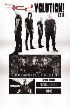 RedVolution Tour 2012 - best birthday present ever!