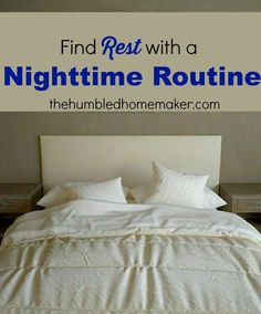 Establishing a nighttime routine has helped me finally begin to get adequate rest. Going to bed earlier has made me feel like a different person!