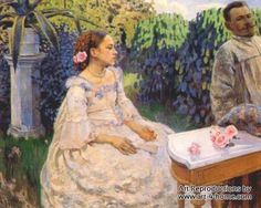 Self Portrait with Sister by Victor Borisov-Musatov hand painted reproduction  100% Handmade Reproductions of Victor Borisov-Musatov:  http://www.art-4-home.com/victor-borisov-musatov/self-portrait-with-sister-p5869.html  Museum Quality at the best price on Internet. Purchase Self Portrait with Sister by Victor Borisov-Musatov reproduction on canvas Oil reproductions of Self Portrait with Sister with custom size    Tags: art reproduction of Victor Borisov-Musatov, Victor Borisov-Musatov…