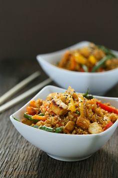 Dirty Thai fried quinoa | Eat Good 4 Life