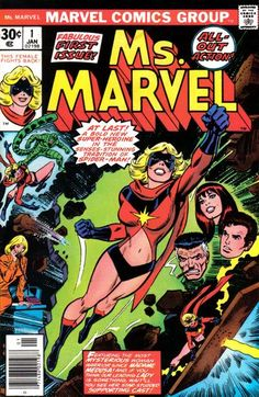 Carol Danvers, who worked at NASA when Captain Marvel was sighted there, has a new life as a magazine editor under J. Jonah Jameson. Little does she know that she has another new life! This issue written by Gerry Conway with wife Carla; most issues in this series by Chris Claremont.