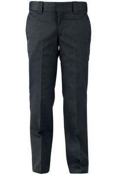 Pantaloni asian neri 873 Slim Straight Work Pants della #Dickies perfetti sia per il lavoro che per il tempo libero. Muniti di 4 tasche, comode per portare chiavi e portafoglio.