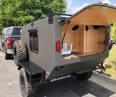 Our off road camper is the best way to really get out and explore. Drifter Trailers offroad campers are at home on road and off. Off Road Teardrop Trailer, Teardrop Camper Trailer, Small Camping Trailer, Truck Camping, Camping Trailers, Camping Survival, Tent Camping, Survival Gear, Camping Gear