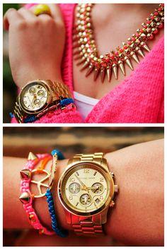 #MichaelKors #Womens #Street #Fashion #Style #ideas #Casual #Chic #MK5055 #Watch