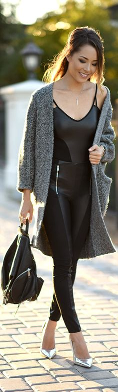 Daytime Cozy with an Edge / Fashion By Hapa Time