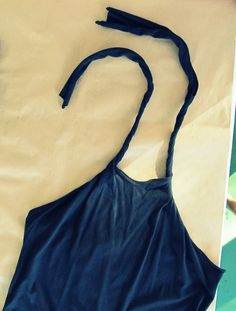 """Wobisobi: No Sew, DIY Tee-Shirt Halter.  AMAZING SITE!!! this site has tons of step-by-step mod designs with pictures of each step. lve! you need to look under the tab """"ho"""" to find the how to's"""