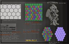 Jared Krichevsky how to hex tile/zbrush part 2/2