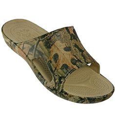 0a0389cc5aa4d Dawgs MOSSY OAK Men's Slide   DAWGS Footwear Beach Pool, Men Slides, Size 10