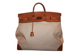 vintage leather and canvas bags