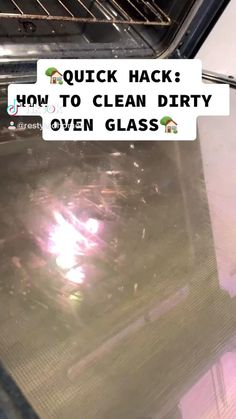 Oven Cleaning Hacks, Diy Home Cleaning, Deep Cleaning Tips, Household Cleaning Tips, Cleaning Recipes, House Cleaning Tips, Natural Cleaning Products, Cleaning Solutions, Spring Cleaning