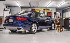 The afternoon continues with this Audi S4 that's in for a Full Detail!