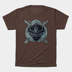 US Combat Diver Vintage Insignia - Sp... | TeePublic