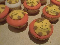 cupcakes fondant jirafas