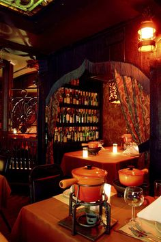 The most romantic restaurant in Chicago!  This is a great Valentine's Day destination! www.gejascafe.com