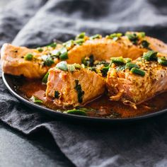 Learn how to make perfect Instant Pot salmon (pressure cooker) with instructions on how long to pressure cook salmon for delicious texture and taste.