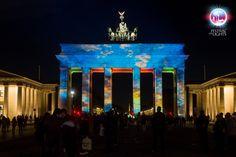 Berlin Brandenburg festival of lights